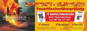 Feuerlöscherüberprüfung @ Feuerwehrhaus Rappoltenkirchen